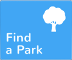 Find a park dropdown menu